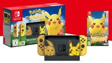 Brand New Sealed Nintendo Switch Lets Go Pikachu Console Bundle Limited Edition