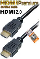 HDMI Premium Kabel für Datenraten bis 18 Gbit/s, 60Hz, HDMI 2.0, 3D, UHD / 4k