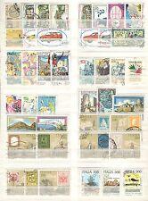 B9228 - ITALIA - ANNATA 1985 - LOTTO 42 USATI DIFFERENTI - VEDI FOTO