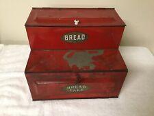 Antique Medal Bread Box