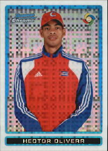 2009 Bowman Chrome WBC Prospects X-Fractors #BCW41 Hector Olivera #/250