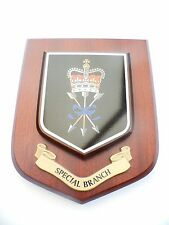 Special Branch Police Wall Plaque