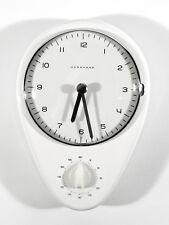 Original Max BILL Junghans Uhr ° elektro Wanduhr ° Küchenuhr + Kurzzeitmesser
