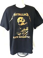 METALLICA - World Death Magnetic Tour OG Concert T-Shirt 2009(S)New Genuine 03E