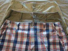 3 pair LEVIS midrise cotton shorts / size 10