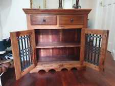 Beautiful solid wood side cabinet