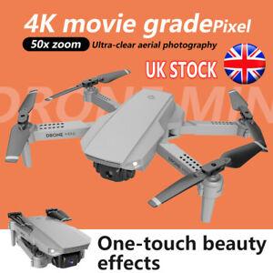 E88 Drone MINI WIFI FPV 4K HD Camera+Battery Foldable Selfie RC 2.4G Quadcopter