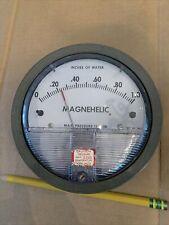 Dwyer Magnehelic Gauge 0-1.0 Inch Wc ⅛� Npt. Cat #2001 Dwyer Gage