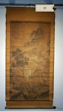 Zhou Chen landscape figures Antique Scroll
