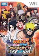 UsedGame Wii Naruto Shippuuden Ninja Taisen EX 2 [Japan Import] FreeShipping