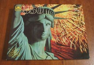 Vintage GOLDEN Puzzle~STATUE OF LIBERTY~550 Pieces #4729-41 NEW Unopened