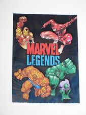 2001 MARVEL LEGENDS PARALLEL RETAIL FOIL CHECKLIST #72 CARD! RARE AVENGERS HULK!