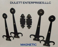 Magnetic Garage Door Decorative Hardware KIT Handles Carriage House FauxQ Hinges