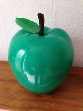 BAC à Glaçons  Pomme avec  feuille VERTE  Seau à glace an 70's  **