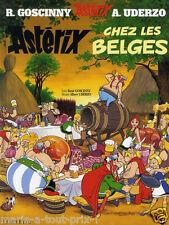 Astérix chez les Belges - BD René Goscinny et Uderzo livre Hachette