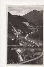 Albulabahn Vintage RP Postcard Switzerland 389a