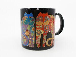 Laurel Burch Flowering Felines Cat Mug / Coffee Cup