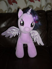 My Little Pony TWILIGHT SPARKLE 15 inch Unicorn Plush - Circa 2013 - HASBRO