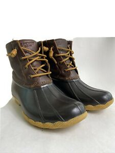 Sperry Duck Boots Top Sider Used Womens 7.5