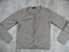 NO MAN´S LAND Basic Cardigan m. Kaschmir camel Gr. S TOP ZC1017