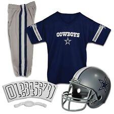Dallas Cowboys Uniform Set Youth NFL Football Jersey Helmet Kids Costume Small