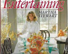 4 x back issues Living Magazine & Martha Stewart Entertaining Book HB DJ 1987