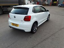 2016 VOLKSWAGEN POLO R LINE 1.0 TSI TURBO BLUEMOTION DAMAGED REPAIRABLE SALVAGE