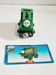 THOMAS & FRIENDS WOODEN ENGINE NEIL PLUS CARD