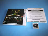 Metroid: Samus Returns (Nintendo 3DS) XL 2DS Game w/Case & Insert
