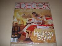 ELLE DECOR Magazine, December/January, 1999, HOLIDAY STYLE, ROMANTIC BEDROOMS!