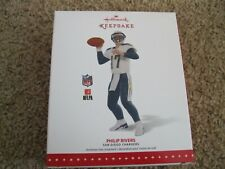 2015 Hallmark Ornament - Philip Rivers - San Diego Chargers - New - NFL