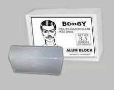 2 x BOBBY Alum Block FIGHTS RAZOR BURN POST SHAVE ANTISEPTIC ASTRINGENT 100 GRAM