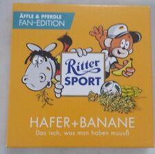 Ritter Sport äffle & pferdle Avena e banana em 2016 fan-Edition scatola vuota