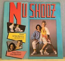 "NU SHOOZ Point Of No Return 1986 UK 4-track 12"" vinyl single EXCELLENT CONDITION"