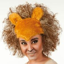 GINGER teatrali Teatro PUSS GATTI MUSICALI HEADDRESS LLOYD West End Parrucca LION UK