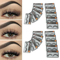 Newly Cross Section False Natural Thick Fake Eyelashes Makeup P0P7