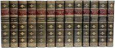 Sir Walter Scott - The Waverley Novels - 26 vols. bound in 13 - LEATHER BOUND!