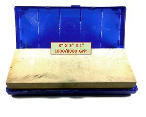 Norton Pike Waterstone 1000/8000 Combination Grit: Straight Razor Whetstone