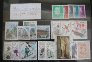 Monaco timbres neuf** 1980