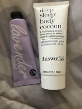 Deep Sleep Body Cocoon And Lavender Hand Lotion value $52