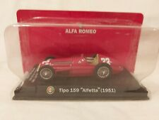 Altaya Formula 1 Juan Manuel Fangio ALFA ROMEO Tipo 159 - 1951 - 1:43 Scale