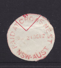 POSTMARK:  PAIT AT CROWS NEST NSW AUST