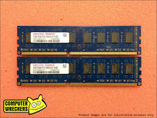 4GB (2x 2GB STICKS) DDR3 PC3-10600U **BULK BRANDS** DESKTOP PC RAM MEMORY DIMM
