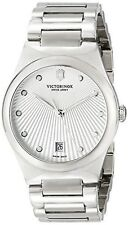 Victorinox Swiss Army Womens 241630 Victoria Analog Swiss Quartz Silver Watch