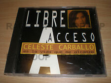 Es La Vida Que Me Alcanza by Celeste Carballo (CD, 1997) MADE IN ARGENTINA