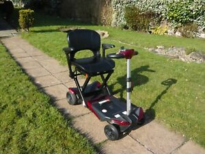 Solax  Remote Automatic  Folding 4 Wheel Mobility Scooter  Car Boot / Travel