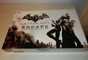 DC COMICS BATMAN ARKHAM CITY ESCAPE THE BOARD GAME CRYPTOZOIC Complete