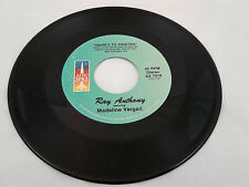 Ray Anthony 45 Here's to Sinatra/Tribute to Harry James Aero Space 7018 VG++