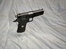 """Display Stand, Pistol, Magwell, Acrylic Colt 1911A1, 45acp Clear - """"ICE"""""""