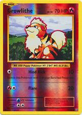 Growlithe 17/108 XY Evolutions REVERSE HOLO PERFECT MINT! Pokemon